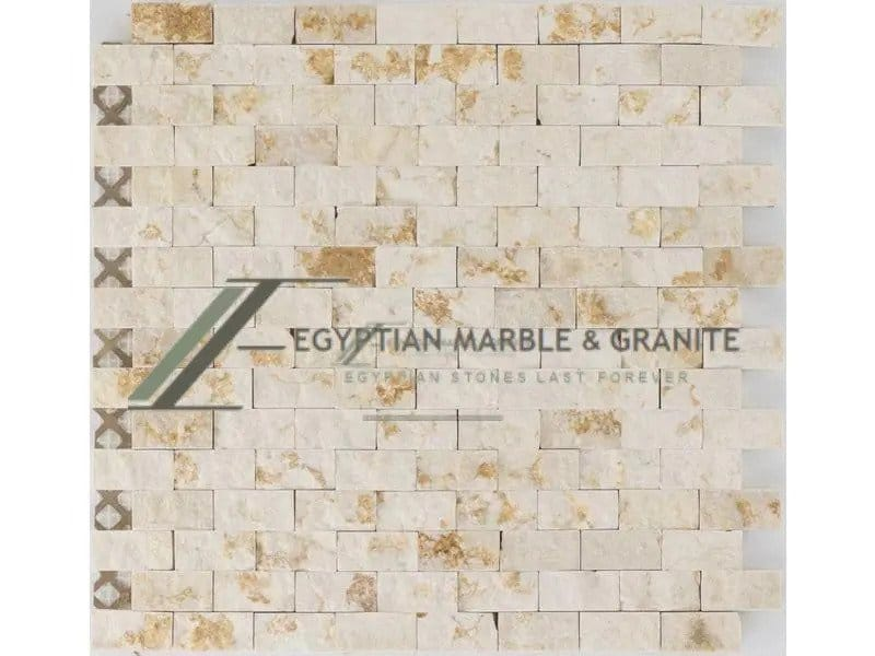 Mosaics with Sunny Egyptian Marble